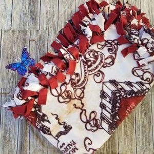 Lovely Harry Potter Marauders Map Fleece Blanket